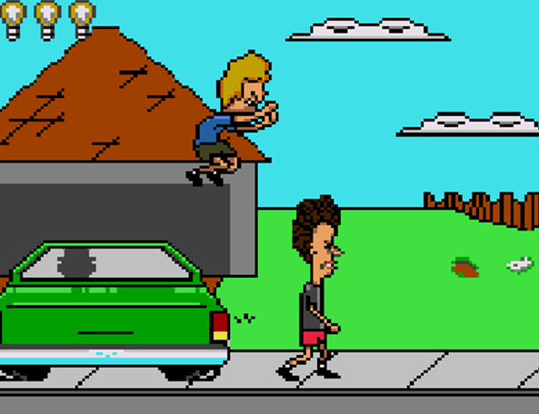 beavis and butthead flash game