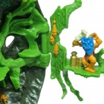 Mighty Max Tangles with the Ape King - Doom Zone Playset Witch Doctor