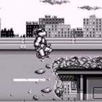 TMNT Back from the Sewers Game Boy gameplay