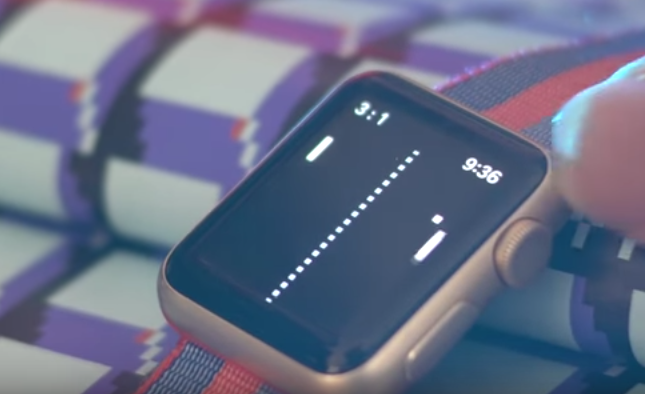 Apple Watch Game Pong