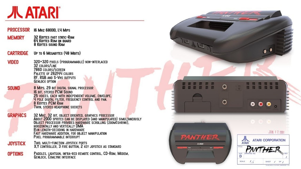 Atari Panther Unreleased Console