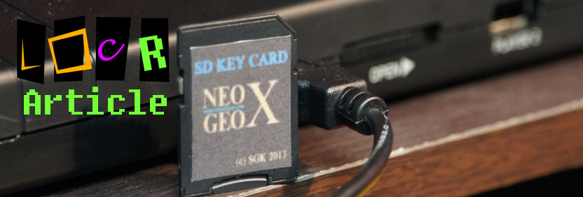 Neo Geo X Magic SD Card Adapter Slider Image