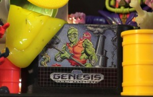 Toxic Crusaders Sega Genesis cartridge