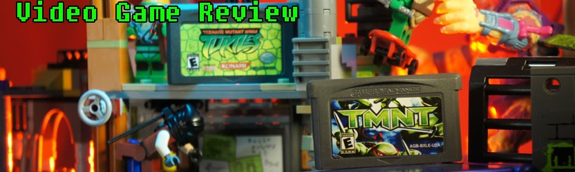 Teenage Mutant Ninja Turtles & TMNT – Game Boy Advance