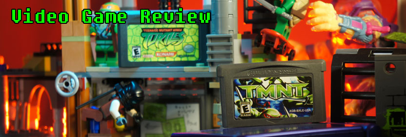 TMNT Ninja Turtles Game Boy Advance Leftover Culture Review