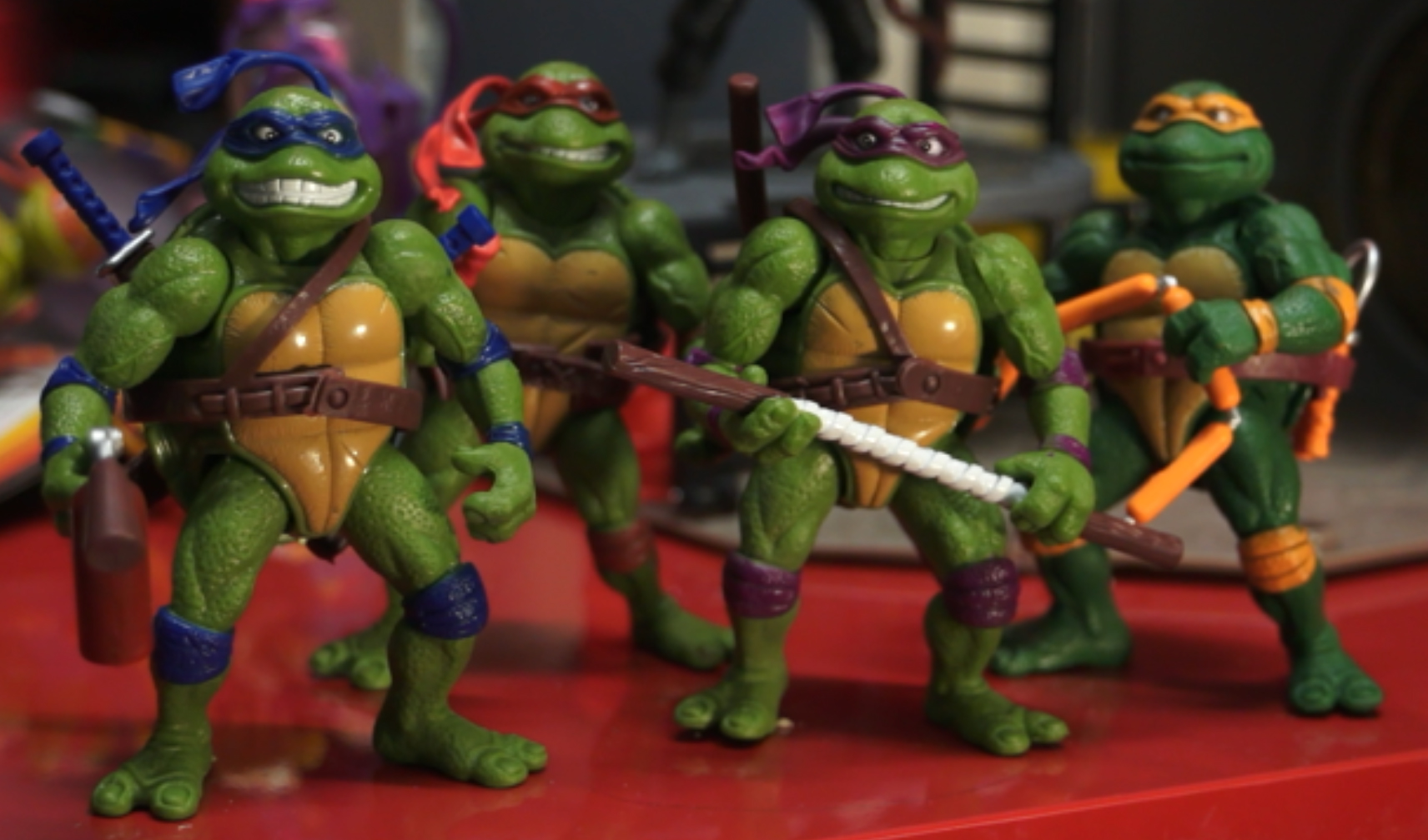 Teenage Mutant Ninja Turtles Movie Stars Action Figure