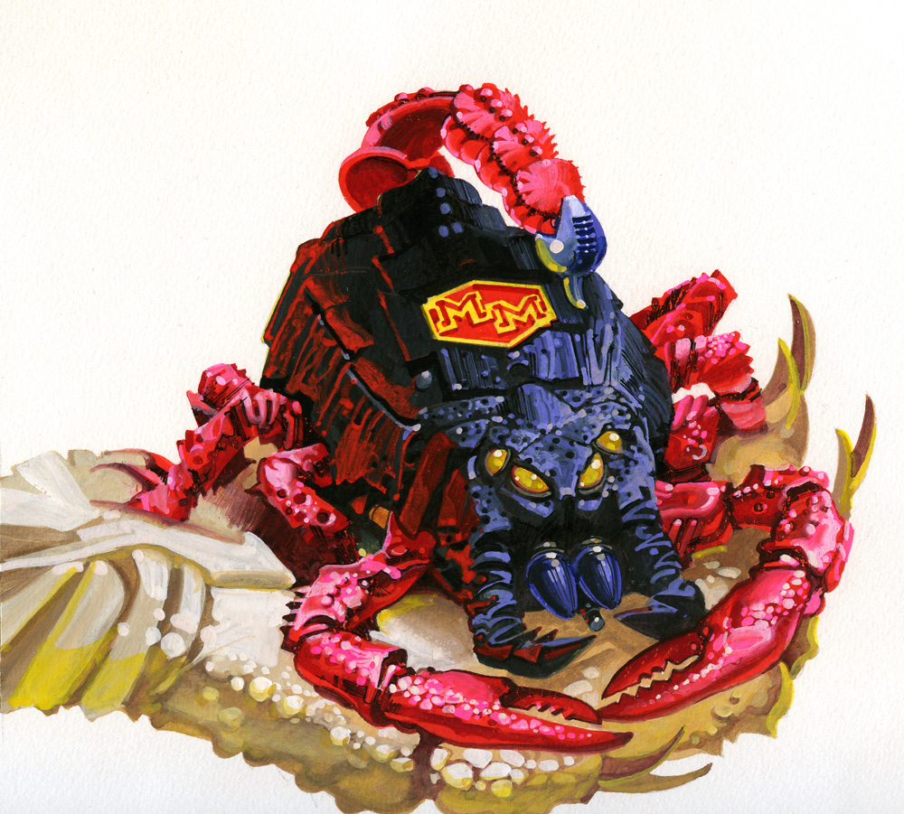 Mighty Max Stings Scorpion Bluebird Toys Leftover
