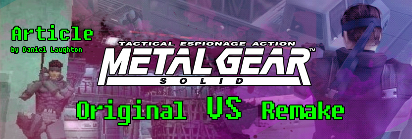 MGS Original vs Remake Website Slider