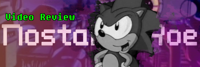 Nostalgic Roe Sonic Cartoon Website Slider