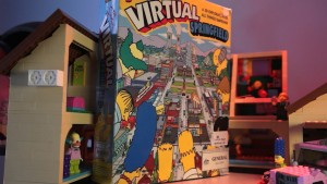 Virtual Springfield Box Art Simpsons House