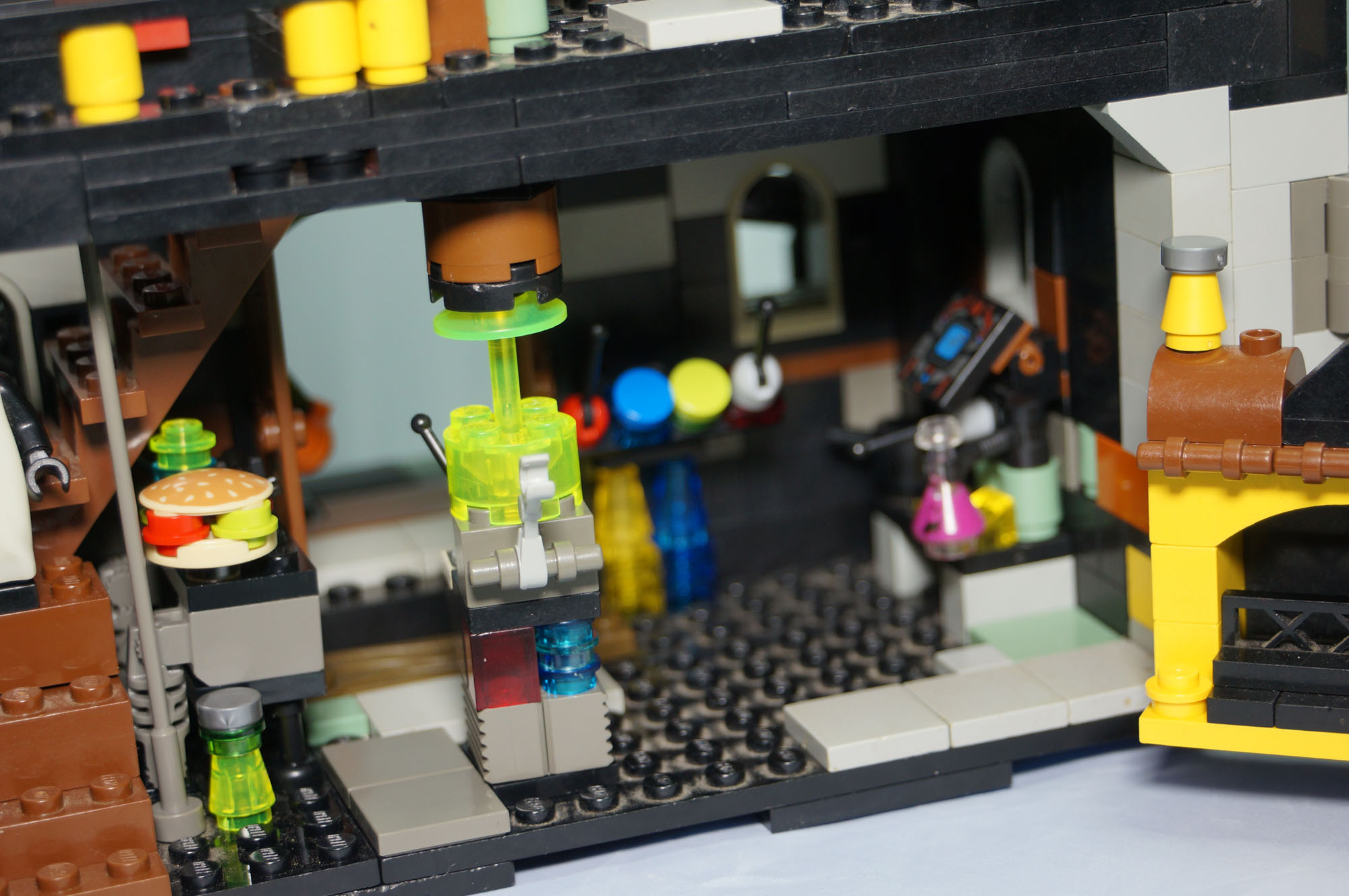 Lego Haunted House My Own Creation With Monsters