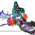 Mighty Max Squishes Fly Doom Zone Playset Complete