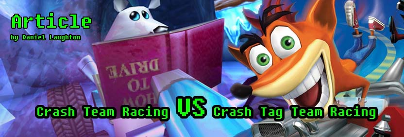Crash Team Racing vs Tag Team Racing