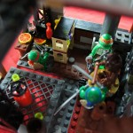 TMNT Dojo Lego MOC Custom Sewer Lair Layout