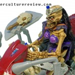 Skeleton Warriors Action Figure Shriek riding Skullcycle