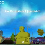 Simpsons Skateboarding PS2 Decapitate