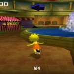 Simpsons Skateboarding PS2 Lisa