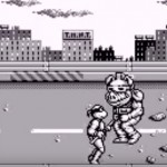 TMNT Back from the Sewers Game Boy Boss Fight Bebop