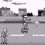 TMNT Back from the Sewers Game Boy Skateboarding