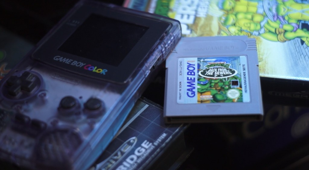 TMNT Back to the Sewers Game Boy Cartridge