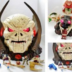 Mighty Max Skull Master Playset