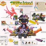 Mighty Max Dragon Island Card Artwork