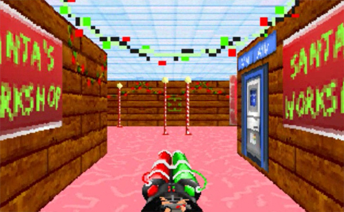 Mall madness 2 - Christmas blaster