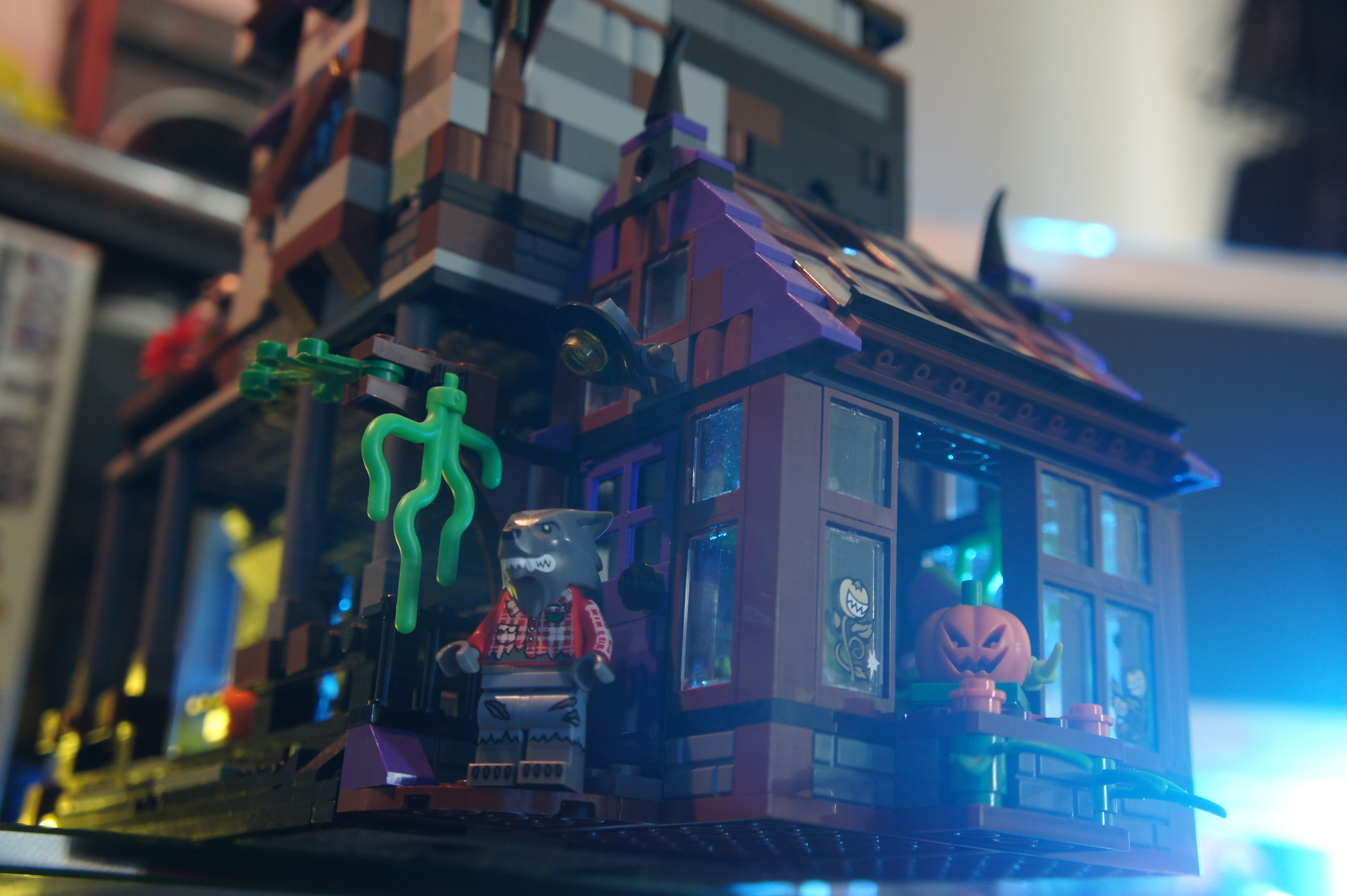 Custom Lego Haunted House Moc Leftover Culture Review